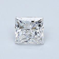 0.90-Carat Princess Diamond Very Good E VS1