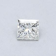 0.32-Carat Princess Diamond Very Good I SI2
