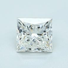 1.02-Carat Princess Diamond Very Good F VVS2