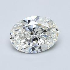 1.01-Carat Oval Diamond Very Good H VS2
