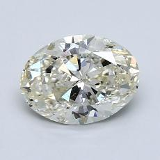 1,21-Carat Oval Diamond Very Good K SI2