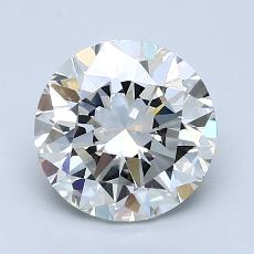 Pierre recommandée n°4: Diamant taille ronde 2,01 carat