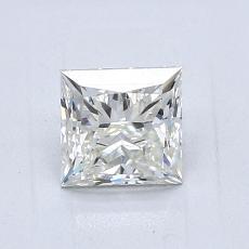 1.01-Carat Princess Diamond Very Good K VVS2
