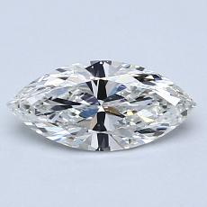 0,71-Carat Marquise Diamond Very Good H IF