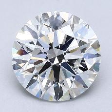 2.01 Carat 圓形 Diamond 理想 E VS1