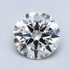 1,00 Carat Rond Diamond Idéale G VS1