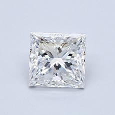0.86 Carat Princesa Diamond Muy buena E VS1