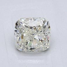 1.01-Carat Cushion Diamond Good K SI1