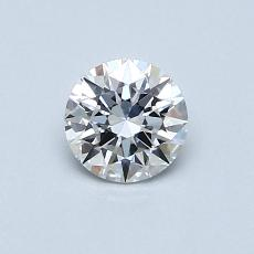Recommended Stone #3: 0,45-Carat Round Cut