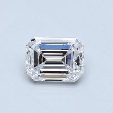 Recommended Stone #4: 0.51-Carat Emerald Cut Diamond