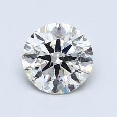 1.02 Carat 圆形 Diamond 理想 I SI2