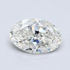 0.75-Carat Oval Diamond Very Good H VS2