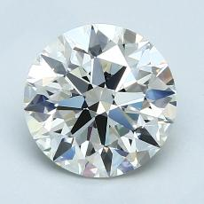 Recommended Stone #1: 1,70-Carat Round Cut