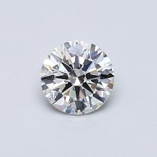 0.50-Carat Round Diamond Ideal G VS1