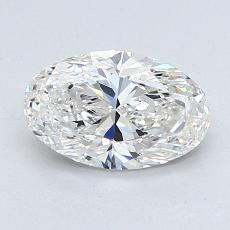 Recommended Stone #4: 1,24-Carat Oval Cut