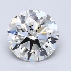 1.70 Carat 圓形 Diamond 理想 H VS2