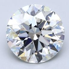 Recommended Stone #2: 3,00-Carat Round Cut