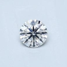 0.32-Carat Round Diamond Ideal G VS2