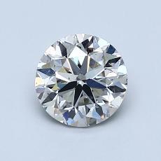 1.00-Carat Round Diamond Very Good I SI1