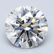 Recommended Stone #4: 2.51-Carat Round Cut