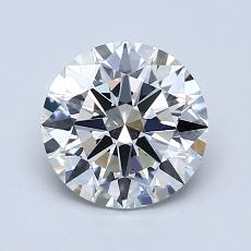 1.30-Carat Round Diamond Ideal G VS1