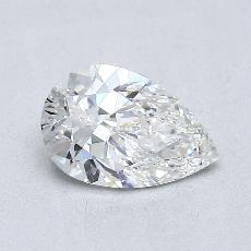 Recommended Stone #3: 0.87-Carat Pear Shaped