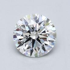1,20 Carat Rond Diamond Idéale G VVS2