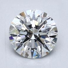 1.51-Carat Round Diamond Ideal E VS1