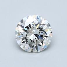 Recommended Stone #1: 0.91-Carat Round Cut