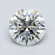1.50 Carat 圆形 Diamond 理想 I VS2