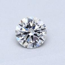 Recommended Stone #4: 0.50-Carat Round Cut Diamond