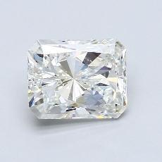 2,01 Carat Radiant Diamond Très bonne G VS1