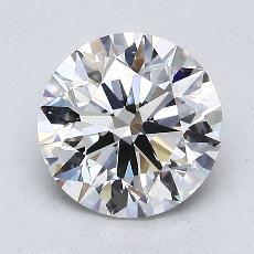 1.50 Carat 圓形 Diamond 理想 G VVS1