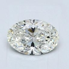 1,04-Carat Oval Diamond Very Good I VVS1