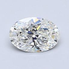 Recommended Stone #2: 1.02-Carat Oval Cut