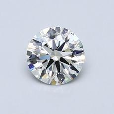 0.62 Carat 圓形 Diamond 理想 I VS2