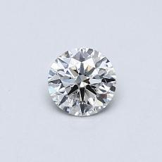 推荐宝石 4:0.30 克拉圆形切割