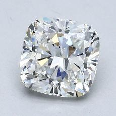 2.00-Carat Cushion Diamond Very Good F SI1