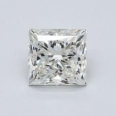 1.01 Carat 公主方形 Diamond 非常好 J VVS2