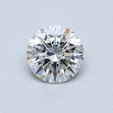 0.53 Carat 圓形 Diamond 理想 F VS2