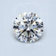 0.70 Carat 圆形 Diamond 理想 H VS1