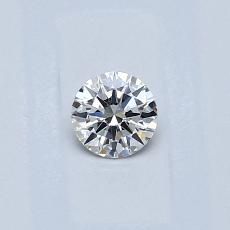 0.23-Carat Round Diamond Ideal G VVS2