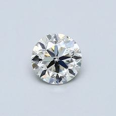 推薦鑽石 #3: 0.45  克拉圓形切割