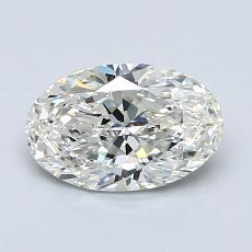 1.01-Carat Oval Diamond Very Good I VS2
