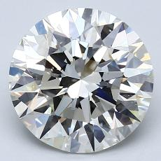 Recommended Stone #3: 4.02-Carat Round Cut