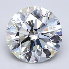 Recommended Stone #2: 2.82-Carat Round Cut
