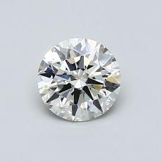 0.70 Carat 圆形 Diamond 理想 I VS1