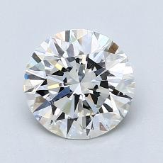 1.50 Carat 圆形 Diamond 理想 F VS2