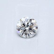 0,31 Carat Rond Diamond Idéale G VS2