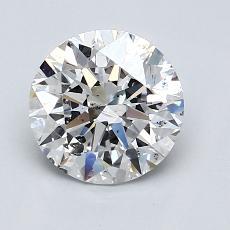 1.51 Carat 圓形 Diamond 理想 D SI2